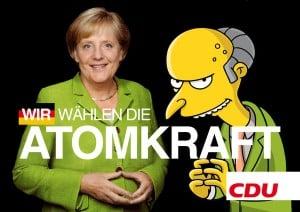 Angela Merkel, Charles Montgomery Burns