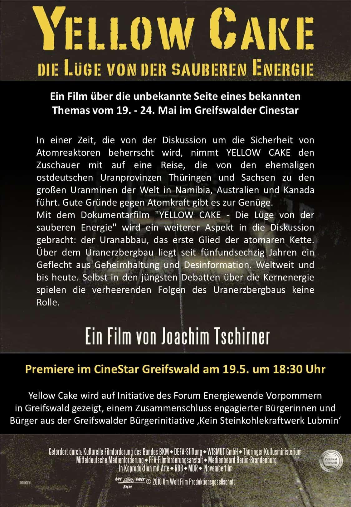 das Plakat zum Film
