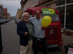 Oskar Gulla und Michael Steiger
