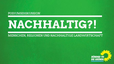Podiumsdiskussion zur Nachhaltigen Landwirschftaft in und um Greifswald