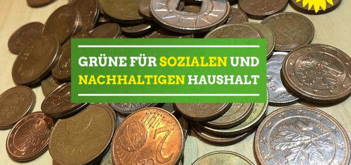 Sozialer und nachhaltiger Haushalt.